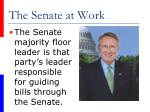 the senate at work37