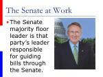 the senate at work37