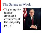 the senate at work38