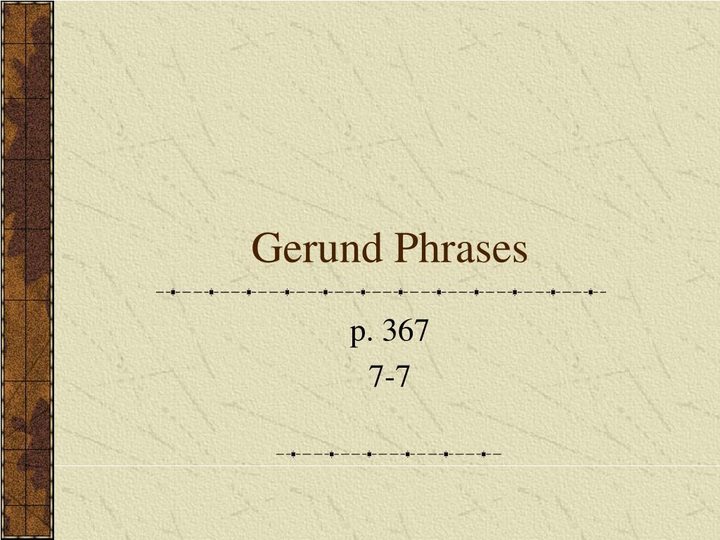 gerund phrases l.