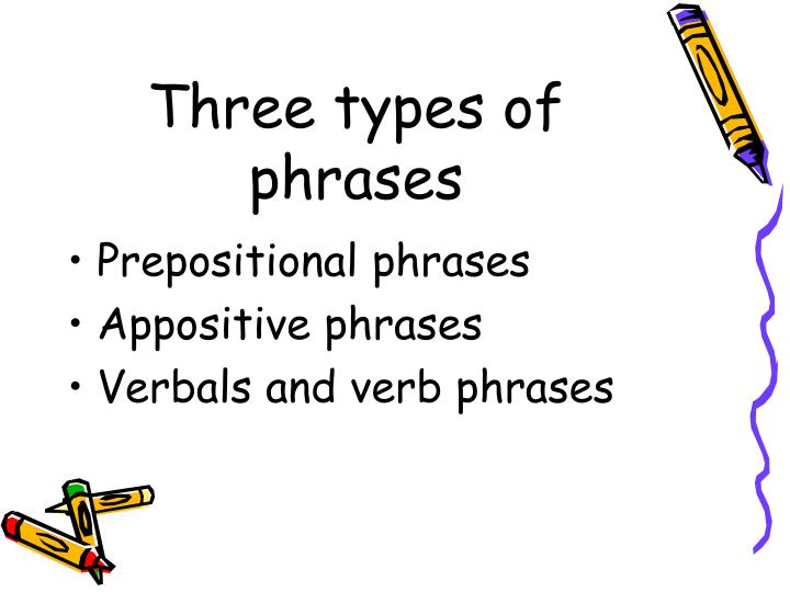ppt - types of phrases powerpoint presentation