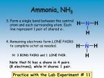 ammonia nh 3
