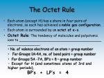 the octet rule1
