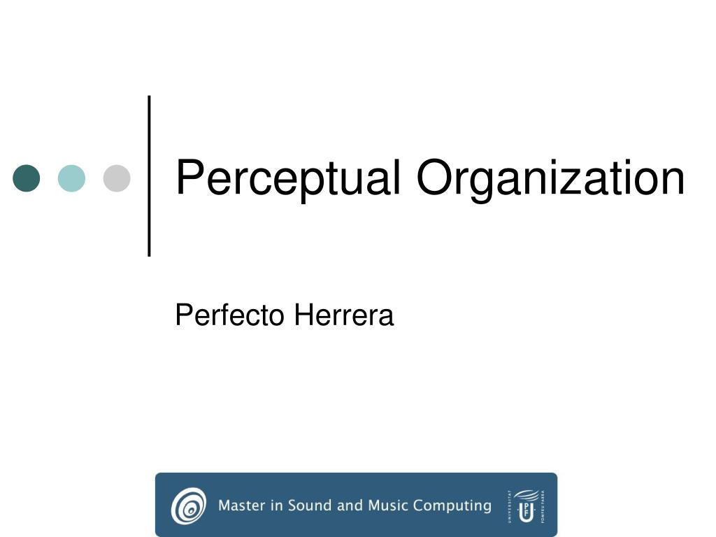 perceptual organization l.