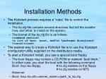 installation methods11