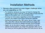 installation methods14