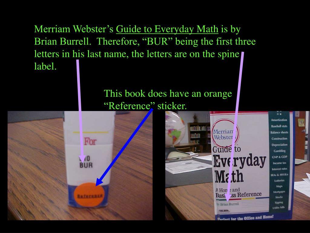 Merriam Webster's