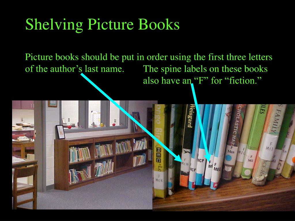Shelving Picture Books