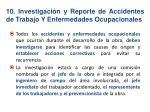 10 investigaci n y reporte de accidentes de trabajo y enfermedades ocupacionales