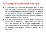 7 2 instalaci n de suministro de energ a
