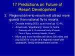 17 predictions on future of resort development5