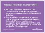 medical nutrition therapy mnt