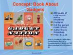 concept book about gadgets