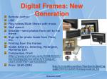 digital frames new generation
