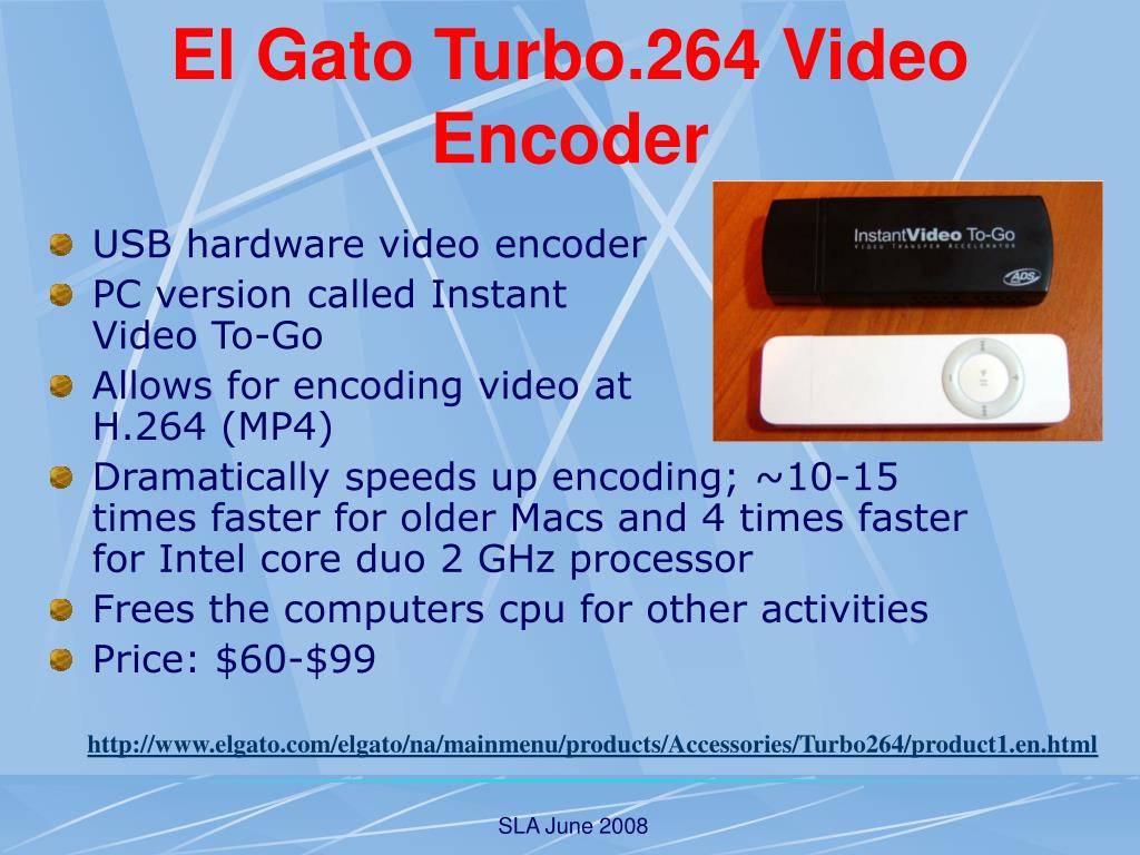 El Gato Turbo.264 Video Encoder