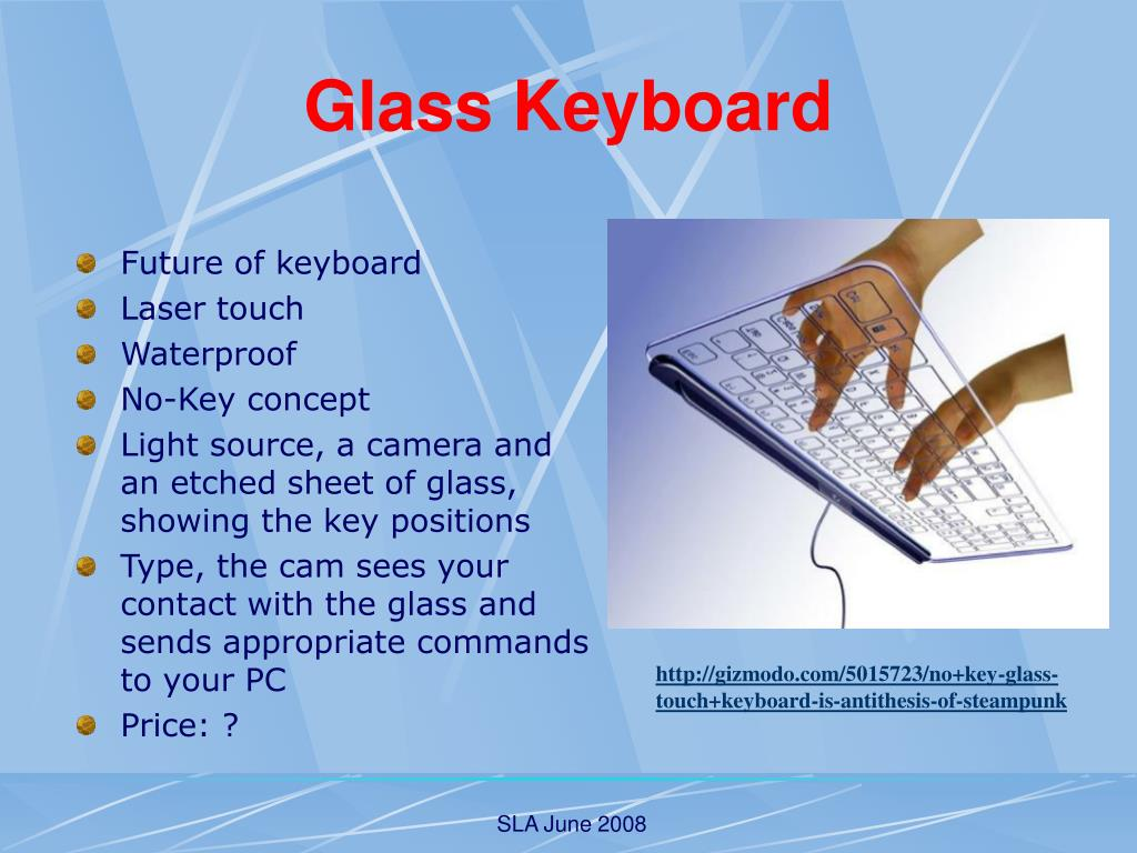 Glass Keyboard