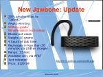 new jawbone update