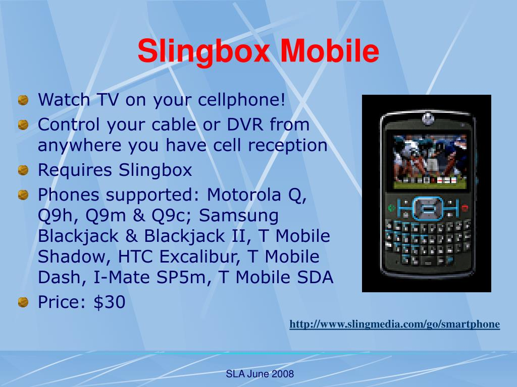 Slingbox Mobile