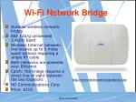 wi fi network bridge