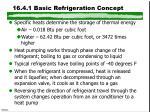 16 4 1 basic refrigeration concept