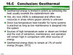 16 c conclusion geothermal
