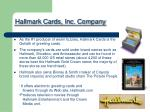 hallmark cards inc company