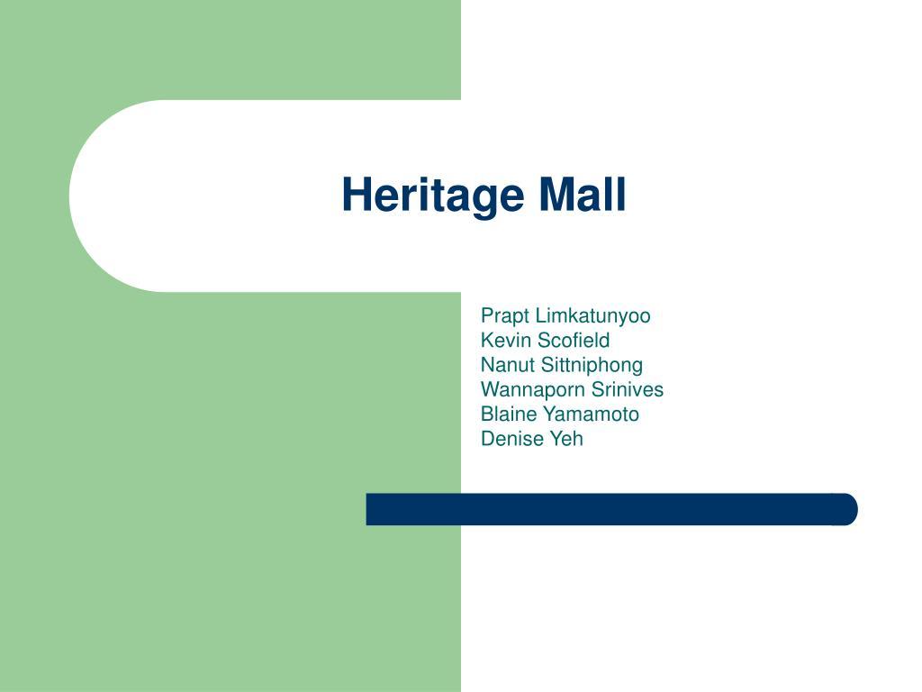heritage mall l.