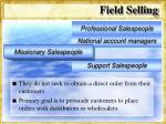 field selling17