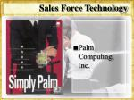 sales force technology51