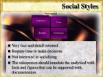 social styles27