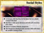 social styles29