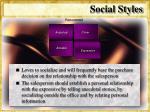 social styles30