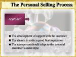 the personal selling process25