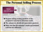 the personal selling process31