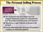 the personal selling process33