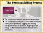 the personal selling process35