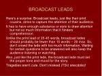 broadcast leads46