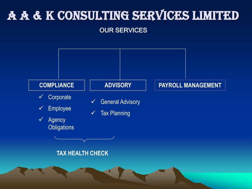 a a k consulting services limited l.
