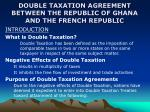 double taxation agreement between the republic of ghana and the french republic