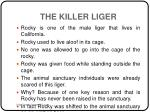 the killer liger2