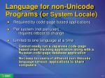 language for non unicode programs or system locale17