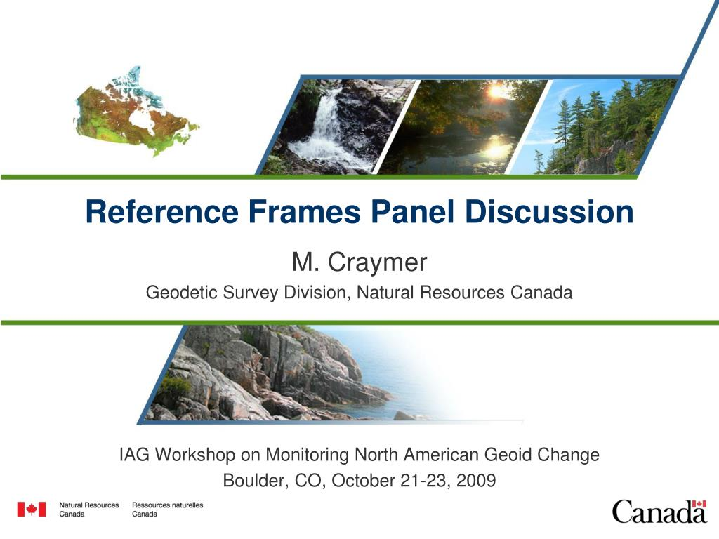 reference frames panel discussion l.
