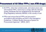 procurement of all other fpps non atm drugs