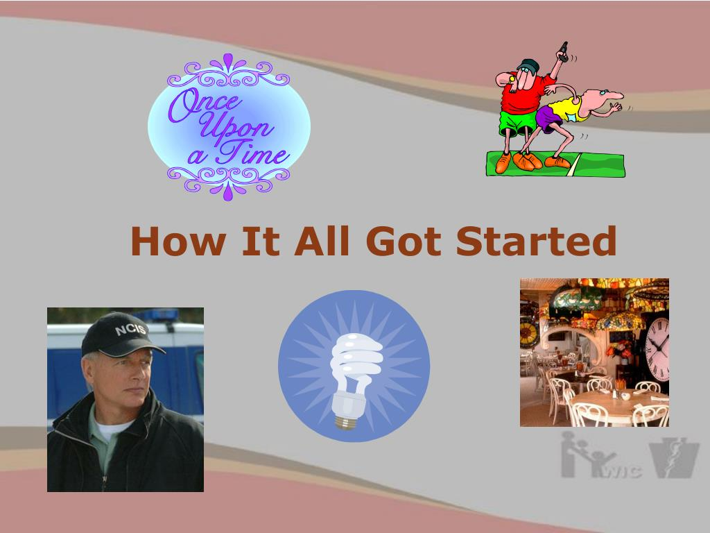 How It All Got Started