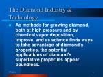 the diamond industry technology