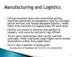 manufacturing and logistics44