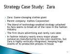 strategy case study zara
