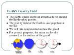 earth s gravity field