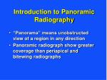 introduction to panoramic radiography3