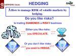 do you like risks
